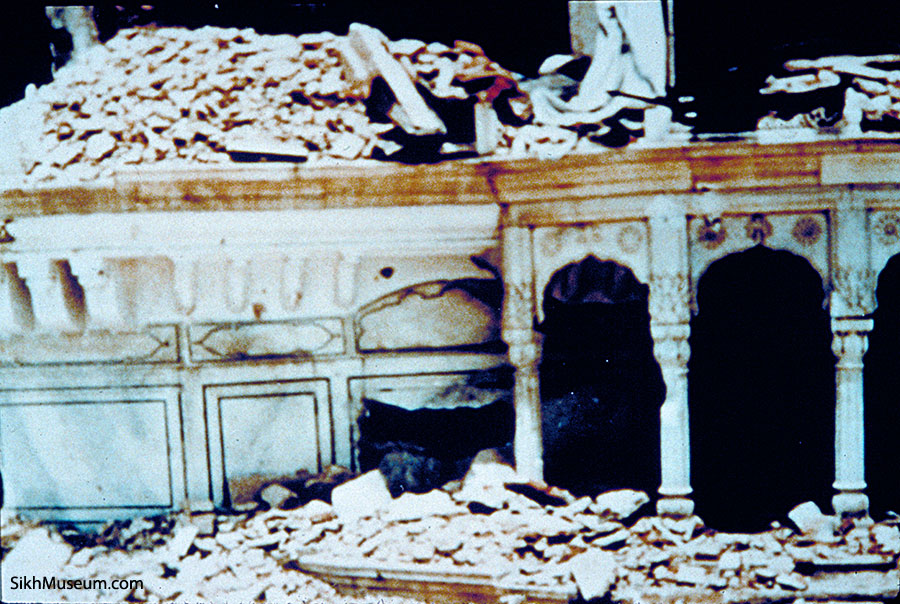 Operation Blue Star 1984 Golden Temple Attack Sikhs
